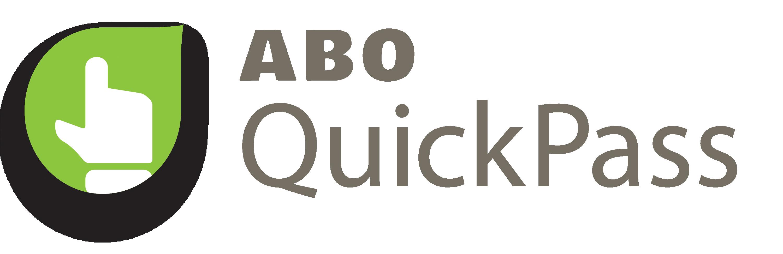 ABO QuickPass logo | Shepeard Blood